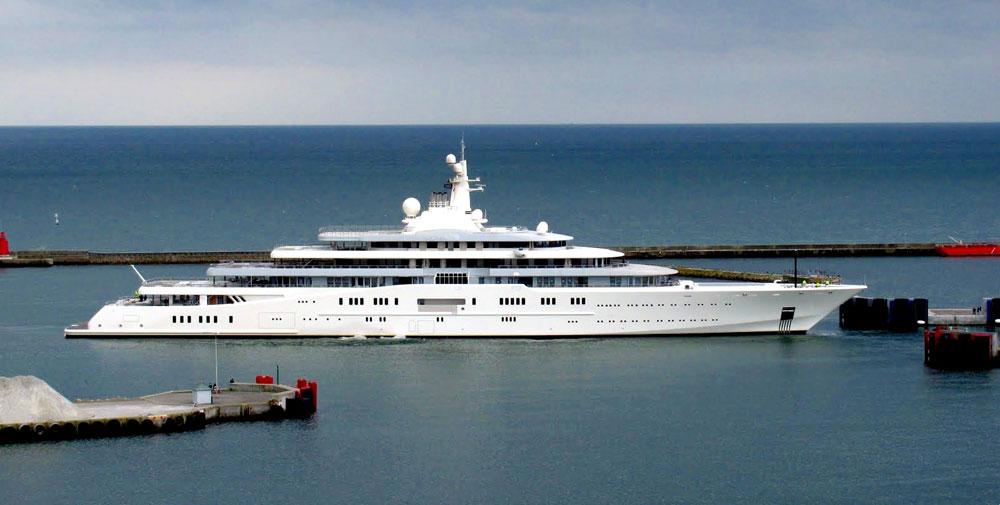 Los 5 yates más lujosos del mundo